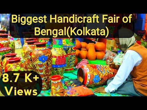 State Hasto Shilpo Mela Eco Park Kolkata Handicraft Fair West