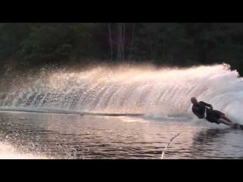 36 MPH – Slalom water skiing at top speed
