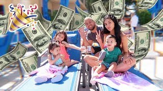 We booked the MOST EXPENSIVE hotel for PENELOPE'S BIRTHDAY!!!