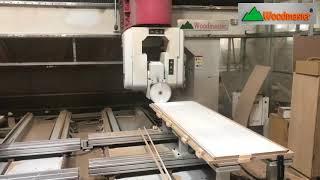 SIÊU MÁY CHẾ BIẾN GỖ - MÁY CNC 3D 5 TRỤC WOODMASTER