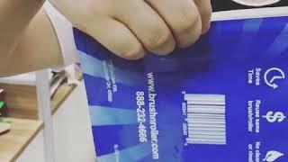 Printing pet food bag with special zipper