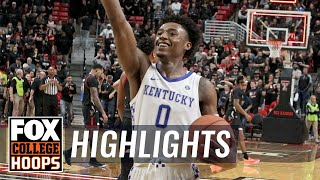 Kentucky goes down to the wire in OT, holds off Texas Tech, 76-74   FOX COLLEGE HOOPS HIGHLIGHTS