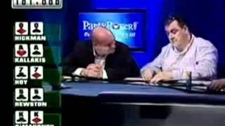 ¡Qué Mano Increible De Poker! QQ Vs. AA Vs. 77 Vs. 55 Vs. KK