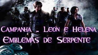 Resident Evil 6 - All Serpent Emblem Locations - Leon Campaign