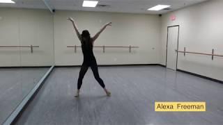 Alexa Freeman (dance demo)