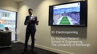 Talk on 3D electrospinning
