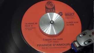 FRANCE D'AMOUR - L'appât des mots - 1991 - TACCA RECORDS
