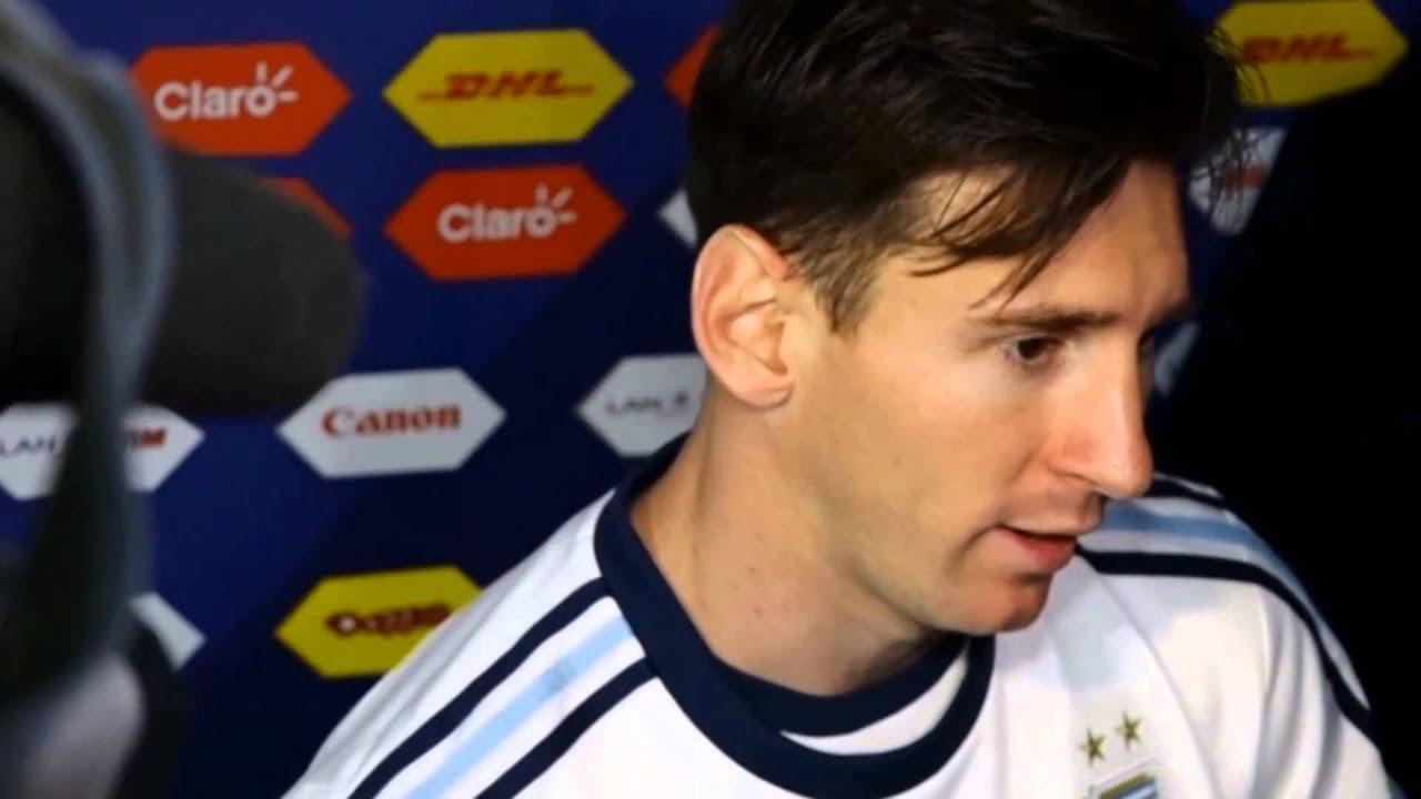 FÚTBOL: Copa América 2015: Messi: «Merecimos ganar mucho antes de los penales»