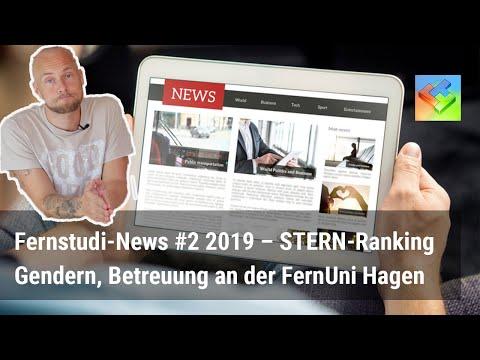 Fernstudium-News #2 09/2019 – STERN Ranking, Betreuung FernUni Hagen, Gendern in Abschlussarbeiten