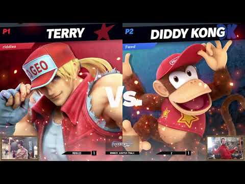 Don't Kick Chairs - Riddles (Terry) vs. Z (Diddy Kong) - Top 48 Winners SSBU