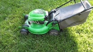 Lawn-Boy Model 10682 Insight Sens-a-Speed ™ Lawn Mower - Final Look & Startup- May 19, 2014