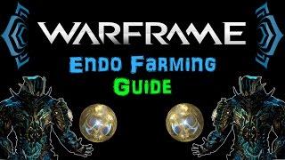 [TSG:U4] Warframe - Endo Farming Guide - Fast  Efficient | N00blShowtek