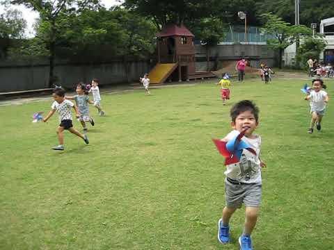 和光鶴川幼稚園より 花組 かざぐるま