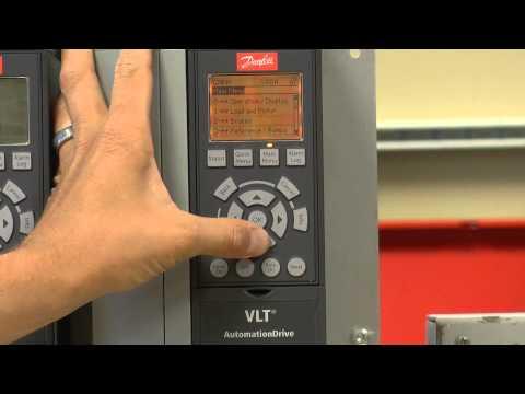 convertisseur de fréquence DANFOSS VLT FC102 HVAC