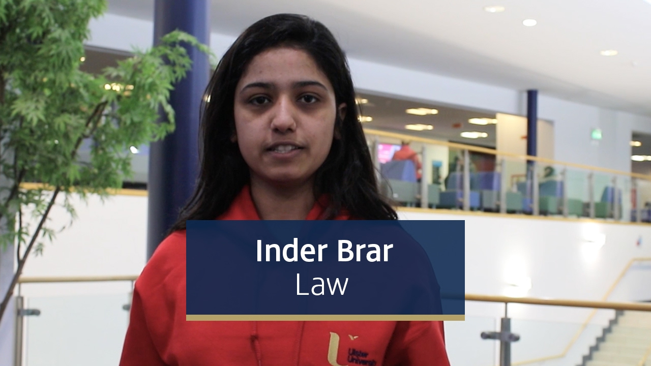 Inder Brar, First year Law student from London