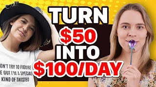 💰 3 Ways To Turn $50 Into $100DAY Passive Income (Earn $$$ While You SLEEP) Passive Income Ideas