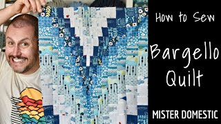 How To Sew A Bargello Quilt With Mister Domestic