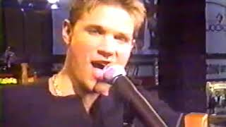 98 Degrees - TRL #1 *She's Outta My Life & Because Of You*