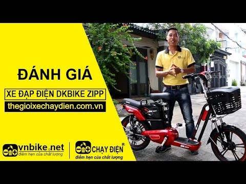 Đánh giá xe đạp điện Dkbike Zipp