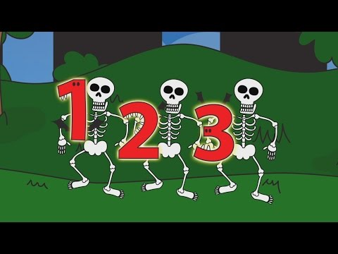 Halloween Counting Show for Kids | Educational song & animation for children