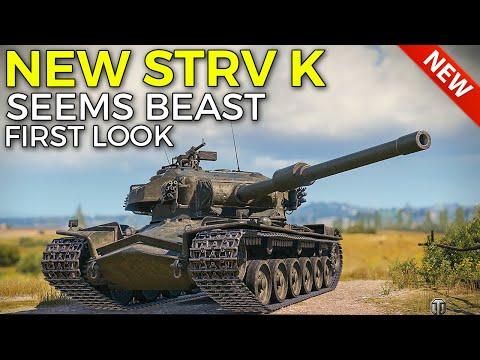New Heavy STRV K Seems Pretty Good | World of Tanks STRV K Supertest Preview