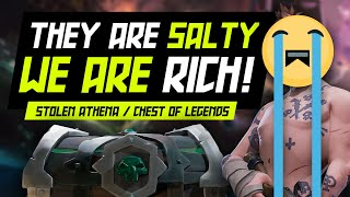 They Are Salty We Are Rich! Stolen Athena! | Hitbotc - Sea Of Thieves