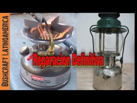 Reparación Definitiva Para tu Lampara o Cocina a Gasolina