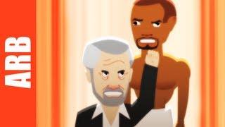 Most Interesting Man vs. Old Spice Guy - ANIMEME RAP BATTLES (NSFW)