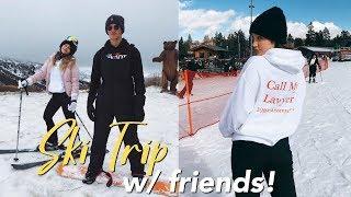 WINTER BREAK SKI TRIP w/ COLLEGE FRIENDS!