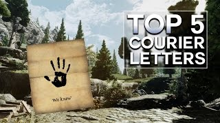 Skyrim - Top 5 Courier Letters