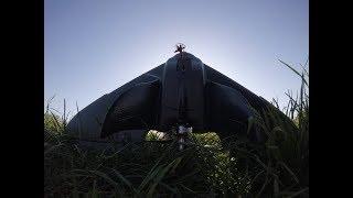 Eachine BlackWing Maiden - Full Flight FPV Footage (DVR)