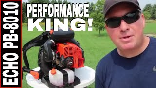 THE MOST POWERFUL BACKPACK BLOWER!! THE ECHO PB-8010H