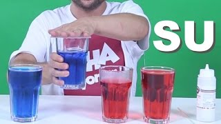 Su ile Yapabileceğiniz 5 İlginç Deney