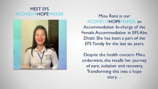 EFS COVID-19 Hope Maker | Minu Rana