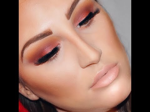 CRANBERRY SMOKEY EYE USING JACLYN HILL X MORPHE PALETTE