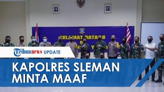 Anggotanya Komentari Kasar Musibah KRI Nanggala-402 di Media Sosial, Kapolres Sleman Minta Maaf