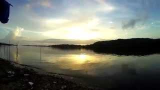 15 seconds on Chapora river. Goa India 15 секунд в Индии Гоа река Чапора.