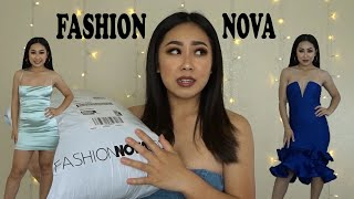 TRY-ON FASHION NOVA HAUL SUMMER 2020 | NIGHT-OUT DRESSES!