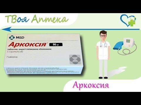 Аркоксия таблетки - показания, видео инструкция, описание, отзывы