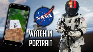 What Playing Fortnite On A NASA Phone Looks Like.