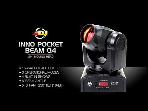 Lampara Mini Cabeza M 243 Vil American Dj Inno Pocket Beam Q4