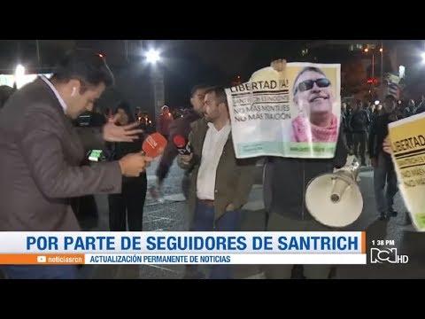 Seguidores de 'Santrich' agredieron a periodistas de Noticias RCN y Caracol