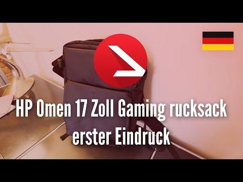 HP Omen 17 Zoll Gaming rucksack erster Eindruck [4k UHD]