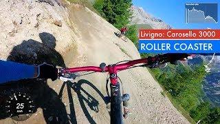 Livigno Carosello 3000 | Tutti Frutti : Roller Coaster trail