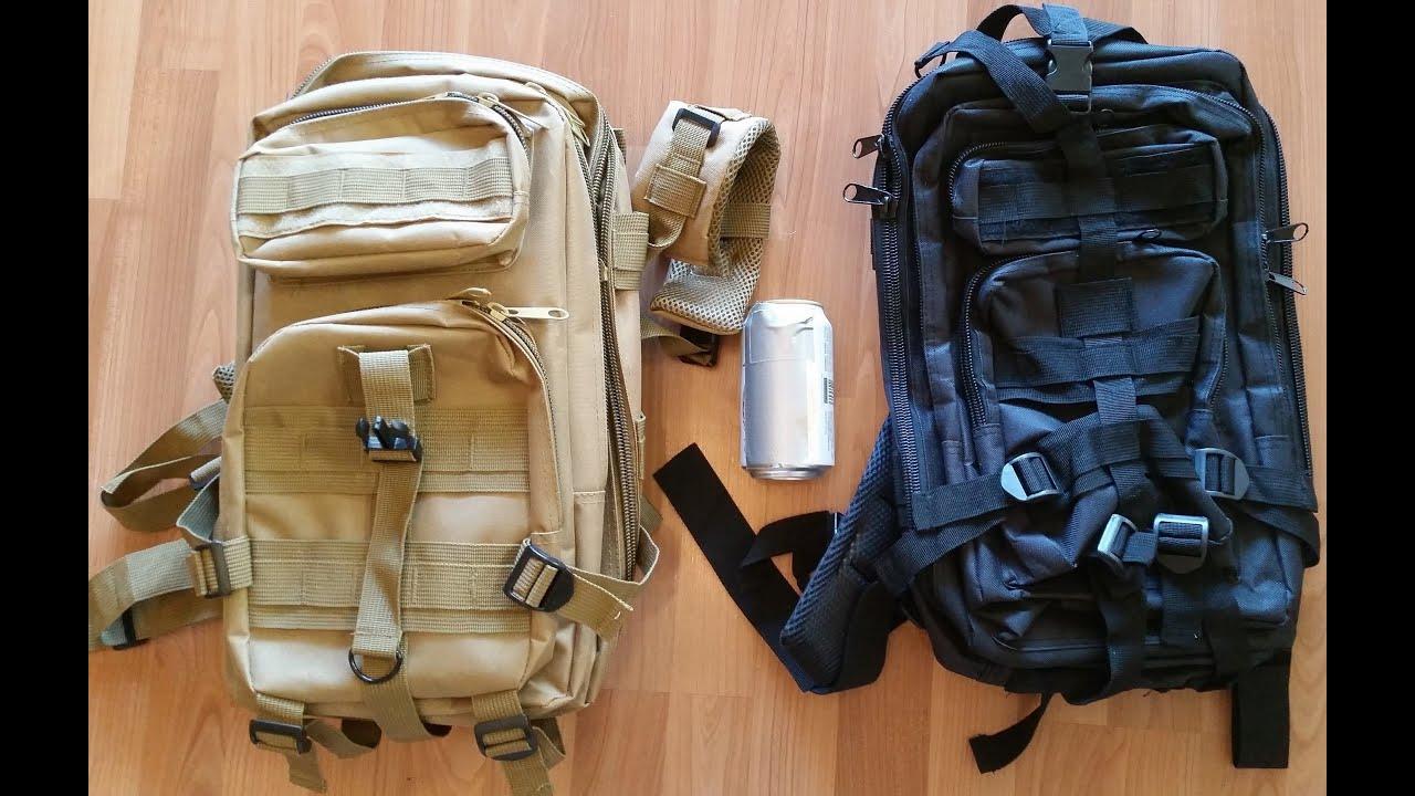 Видео Тактический рюкзак