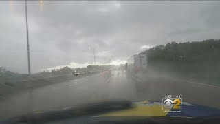 Mobile Weather Lab: Driving Through Lake County Storms