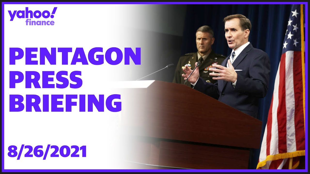 Pentagon Representative John Kirby holds rundown with Significant General Taylor thumbnail