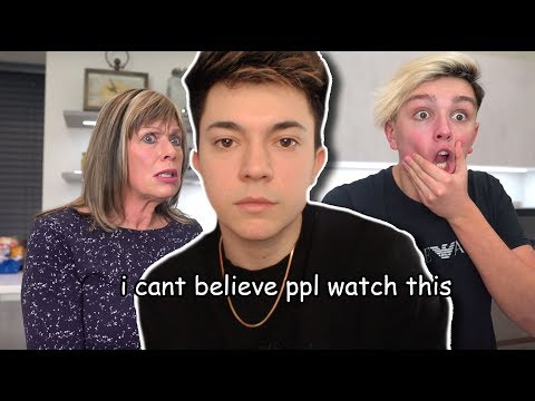 is this kid serious... (morgz reaction)