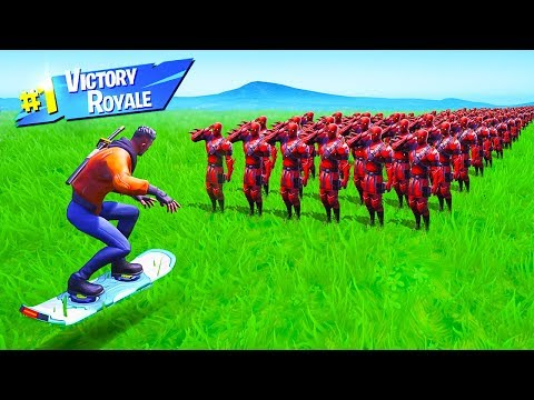 CAN 100 PLAYERS STOP a VEHICLE in Fortnite Battle Royale