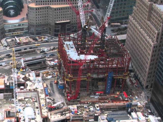 Stunning Time-Lapse Of One World Trade Center Construction
